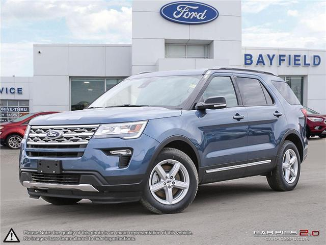 2018 Ford Explorer XLT (Stk: EX18365) in Barrie - Image 1 of 27