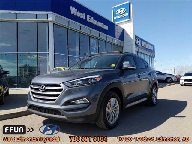 2017 Hyundai Tucson SE (Stk: E4005) in Edmonton - Image 1 of 24