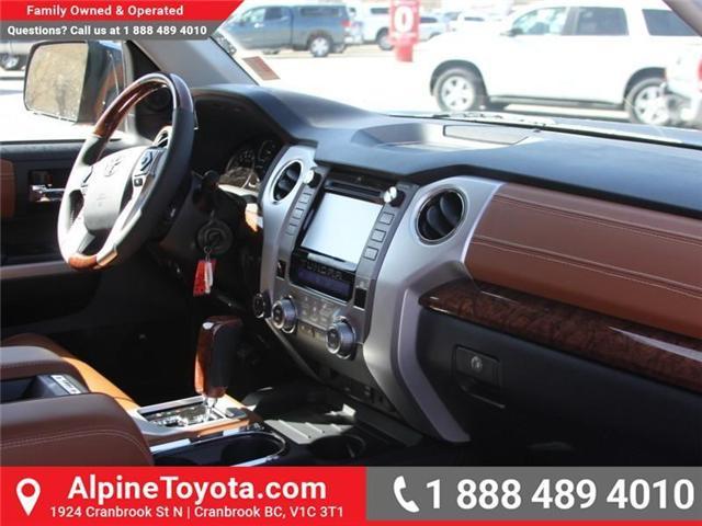 2018 Toyota Tundra  (Stk: X722358) in Cranbrook - Image 10 of 19
