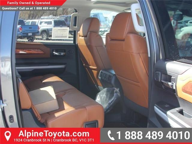 2018 Toyota Tundra  (Stk: X722358) in Cranbrook - Image 11 of 19