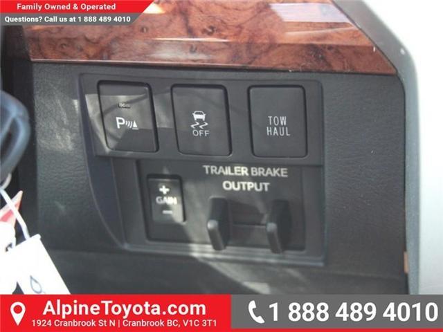 2018 Toyota Tundra  (Stk: X722358) in Cranbrook - Image 14 of 19