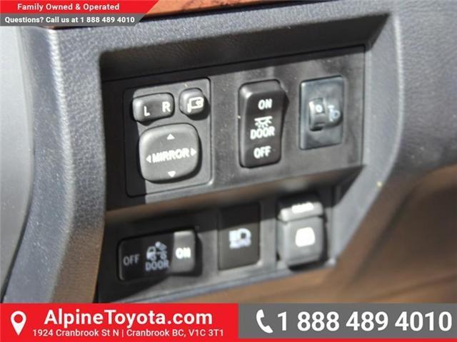2018 Toyota Tundra  (Stk: X722358) in Cranbrook - Image 15 of 19