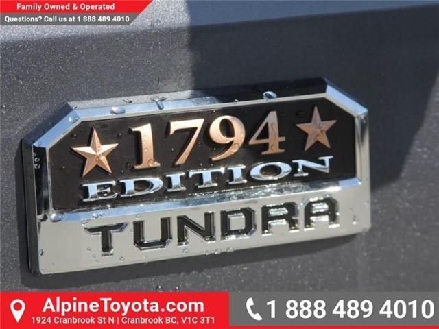 2018 Toyota Tundra  (Stk: X722358) in Cranbrook - Image 18 of 19