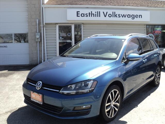 2015 Volkswagen Golf Sportwagon 2.0 TDI Highline (Stk: B179639) in Walkerton - Image 1 of 19
