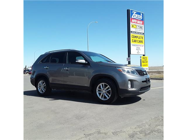 2014 Kia Sorento LX V6 (Stk: D321) in Brandon - Image 1 of 11