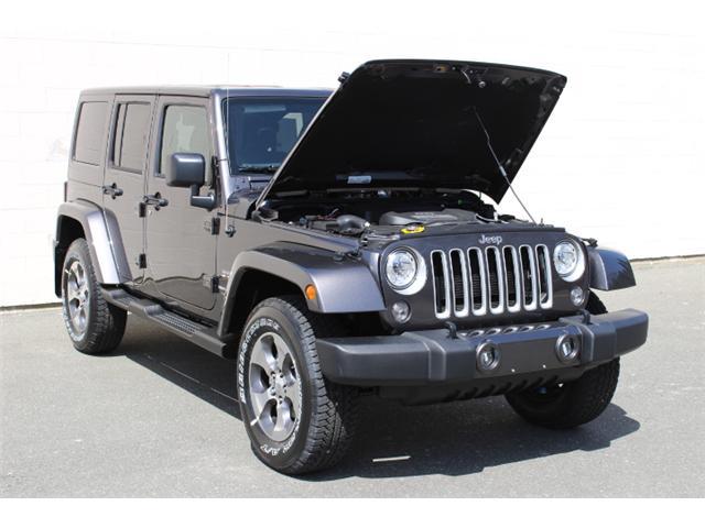 2018 Jeep Wrangler JK Unlimited Sahara (Stk: L863697) in Courtenay - Image 9 of 29