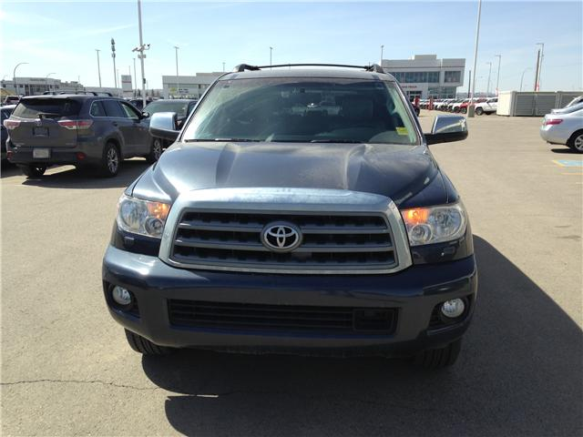 2010 Toyota Sequoia Platinum 5.7L V8 (Stk: 2760253A) in Calgary - Image 2 of 19