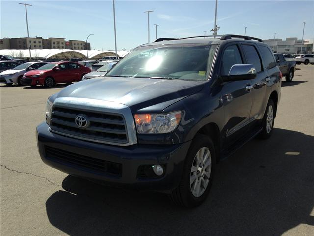 2010 Toyota Sequoia Platinum 5.7L V8 (Stk: 2760253A) in Calgary - Image 3 of 19