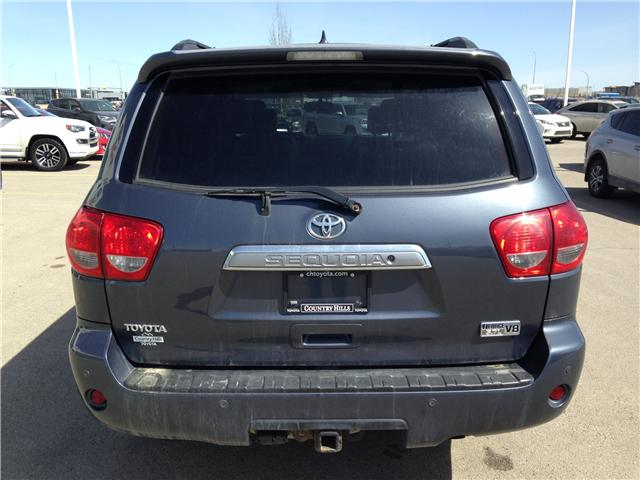2010 Toyota Sequoia Platinum 5.7L V8 (Stk: 2760253A) in Calgary - Image 6 of 19