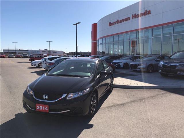 2014 Honda Civic EX (Stk: B0054) in Nepean - Image 1 of 17