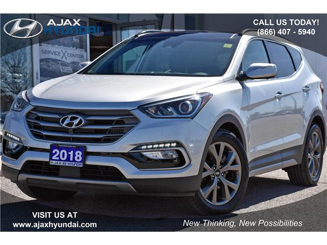 2018 Hyundai Santa Fe Sport 2.0T Ultimate (Stk: P4505) in Ajax - Image 1 of 23