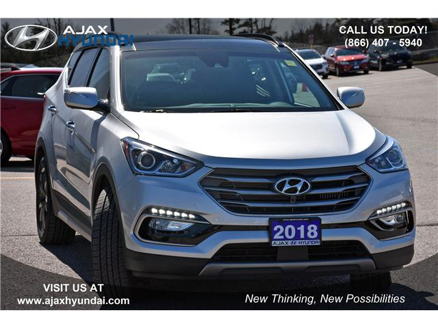 2018 Hyundai Santa Fe Sport 2.0T Ultimate (Stk: P4505) in Ajax - Image 2 of 23