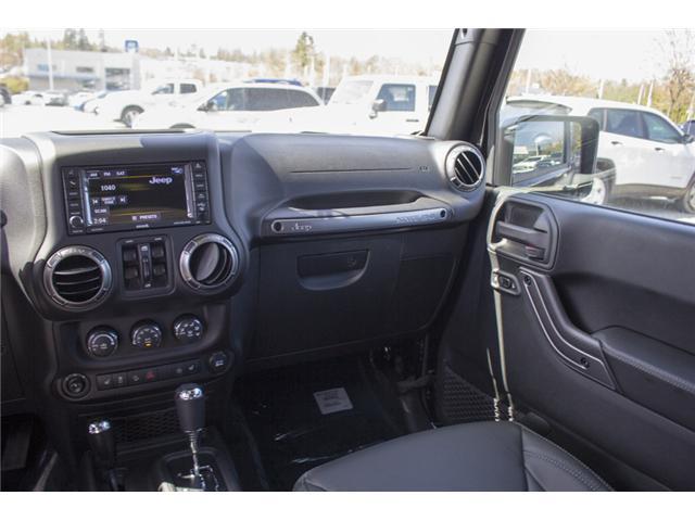 2018 Jeep Wrangler JK Unlimited Sahara (Stk: J886036) in Abbotsford - Image 13 of 26