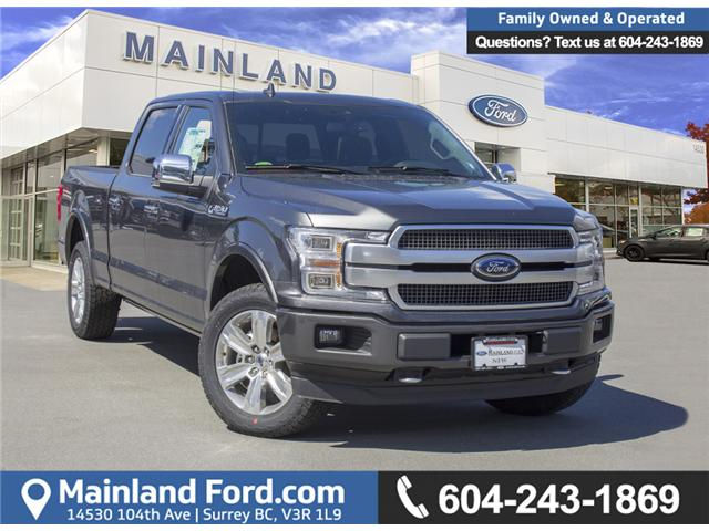 2018 Ford F-150 Platinum (Stk: 8F16204) in Surrey - Image 1 of 26