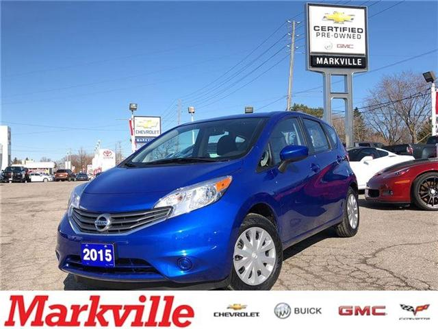 2015 Nissan Versa Note SV-CERTIFIED PRE-OWNED-1 OWNER TRADE (Stk: 109401A) in Markham - Image 1 of 18