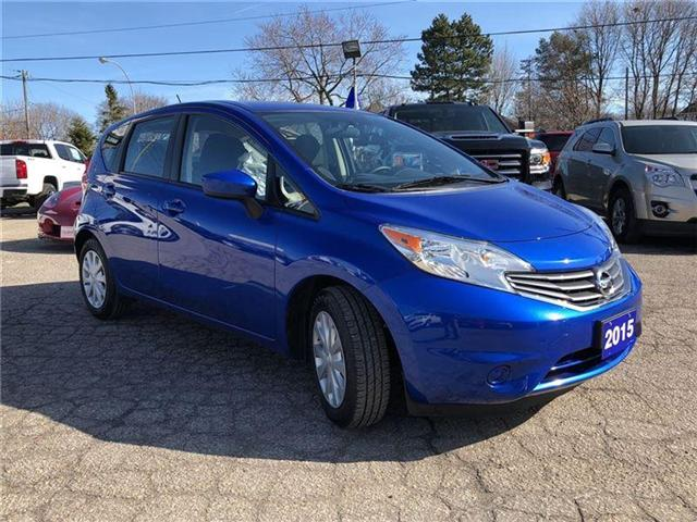 2015 Nissan Versa Note SV-CERTIFIED PRE-OWNED-1 OWNER TRADE (Stk: 109401A) in Markham - Image 7 of 18