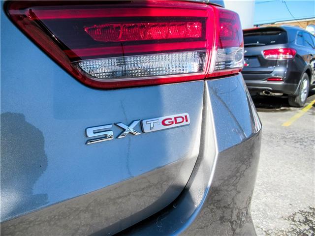 2018 Kia Optima SX Turbo (Stk: 18024) in Toronto - Image 18 of 25