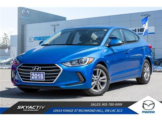2018 Hyundai Elantra GL (Stk: P0238) in Richmond Hill - Image 1 of 20