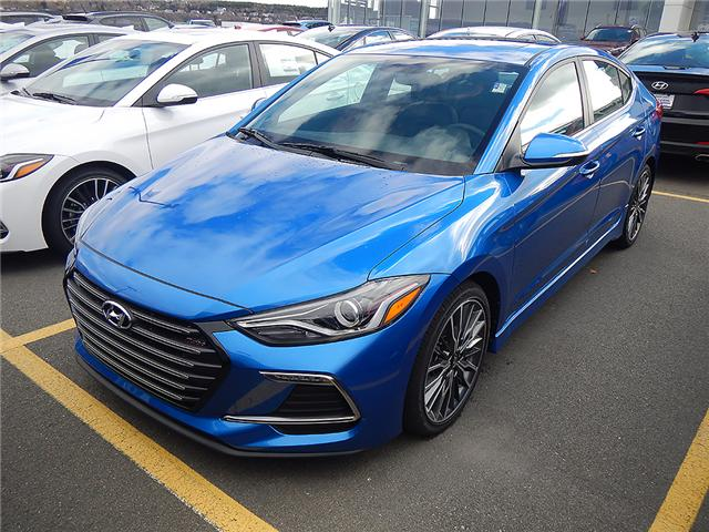 2018 Hyundai Elantra Sport Tech (Stk: 82679) in Saint John - Image 1 of 3