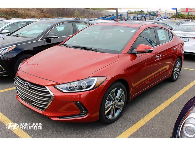 2017 Hyundai Elantra Limited Ultimate (Stk: 72711) in Saint John - Image 1 of 3