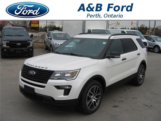 2018 Ford Explorer Sport (Stk: 18223) in Perth - Image 1 of 12