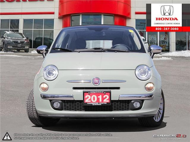 2012 Fiat 500C Lounge (Stk: 18017D) in Cambridge - Image 2 of 27