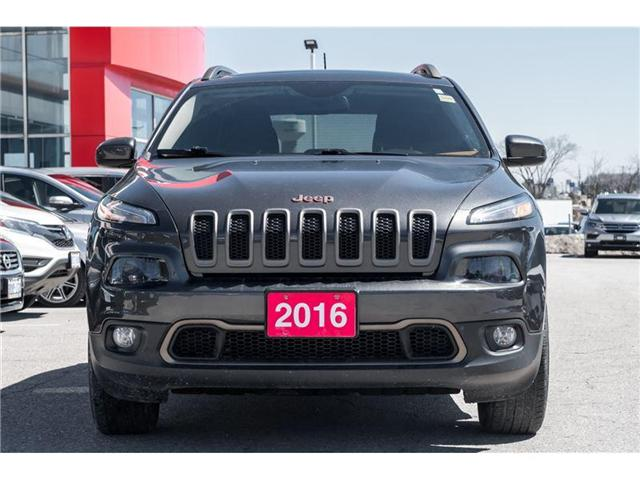 2016 Jeep Cherokee North (Stk: R18068A) in Orangeville - Image 2 of 20