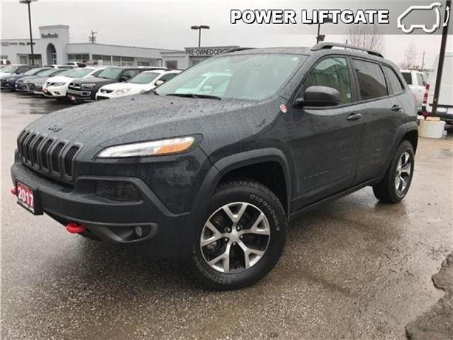 2017 Jeep Cherokee Trailhawk (Stk: 23243P) in Newmarket - Image 1 of 19