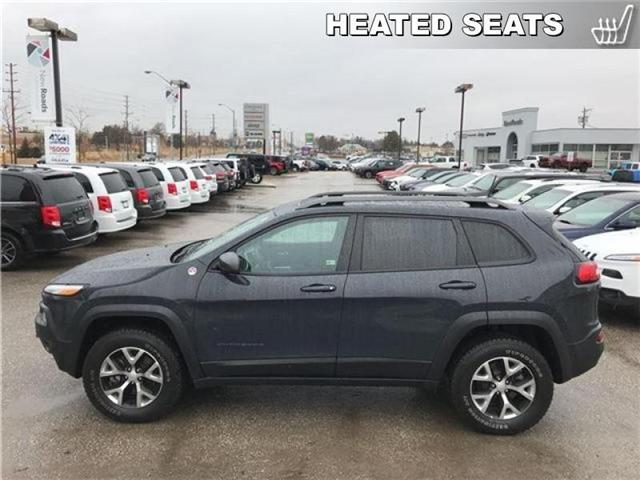 2017 Jeep Cherokee Trailhawk (Stk: 23243P) in Newmarket - Image 2 of 19
