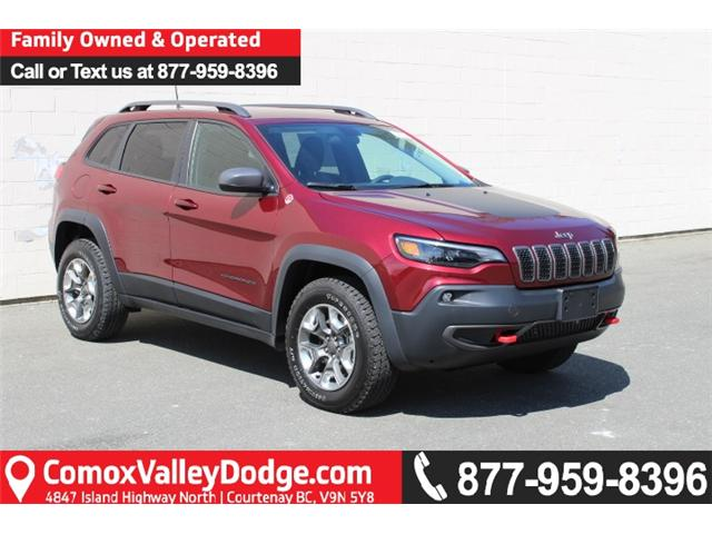 2019 Jeep Cherokee Trailhawk (Stk: D107792) in Courtenay - Image 1 of 29