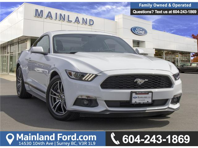 2017 Ford Mustang EcoBoost (Stk: P41383) in Surrey - Image 1 of 28