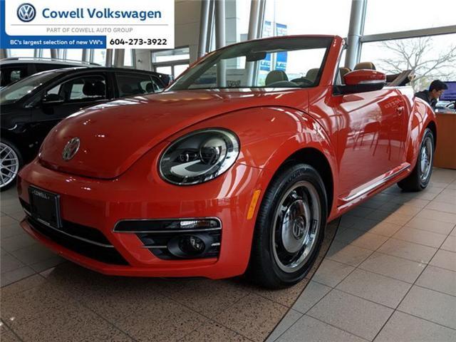 2018 Volkswagen Beetle 2.0 TSI Coast (Stk: VWQB4217) in Richmond - Image 1 of 2