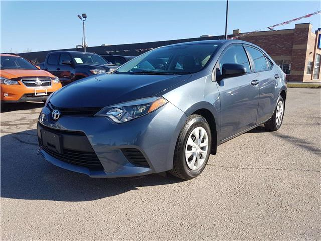 2014 Toyota Corolla CE (Stk: U00798) in Guelph - Image 1 of 25