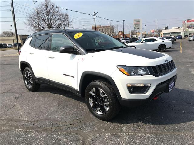 2017 Jeep Compass Trailhawk (Stk: 44430) in Windsor - Image 1 of 11