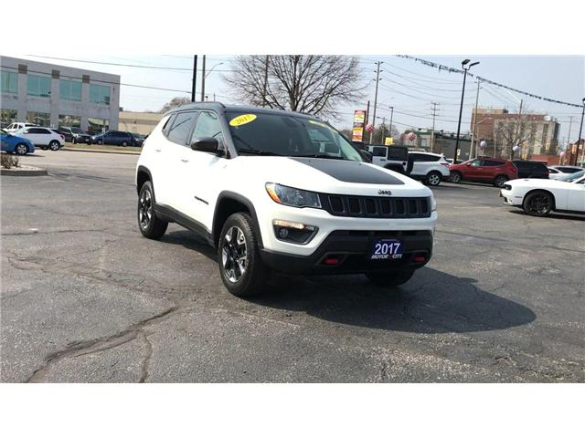 2017 Jeep Compass Trailhawk (Stk: 44430) in Windsor - Image 2 of 11