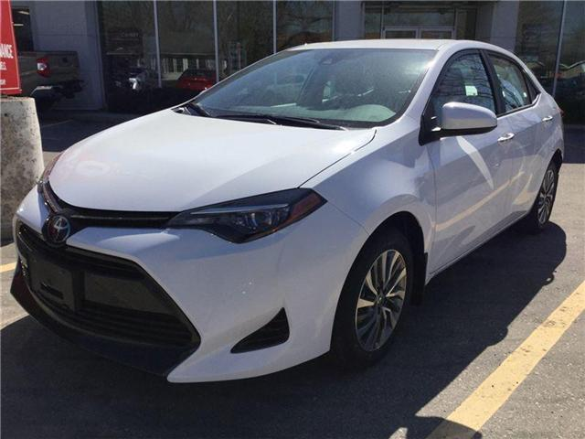 2018 Toyota Corolla LE (Stk: N28417) in Goderich - Image 1 of 3