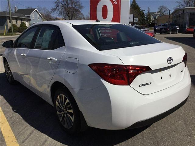 2018 Toyota Corolla LE (Stk: N28417) in Goderich - Image 2 of 3