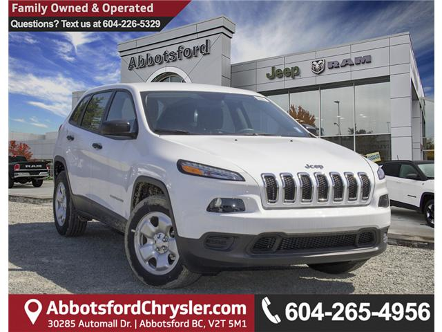 2017 Jeep Cherokee Sport (Stk: H221211) in Abbotsford - Image 1 of 26