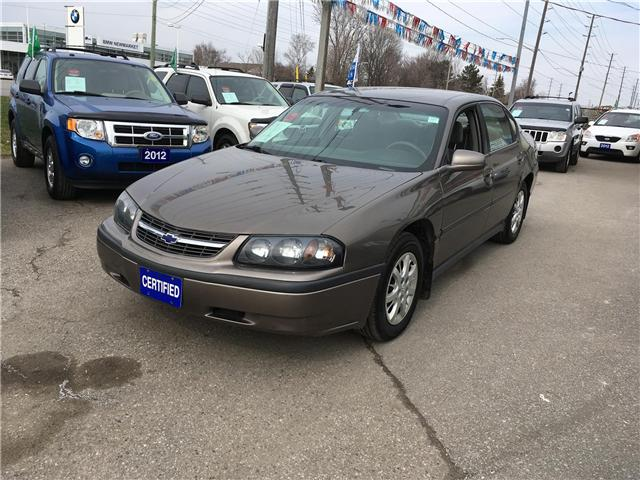 2003 Chevrolet Impala Base (Stk: P2816) in Newmarket - Image 1 of 18