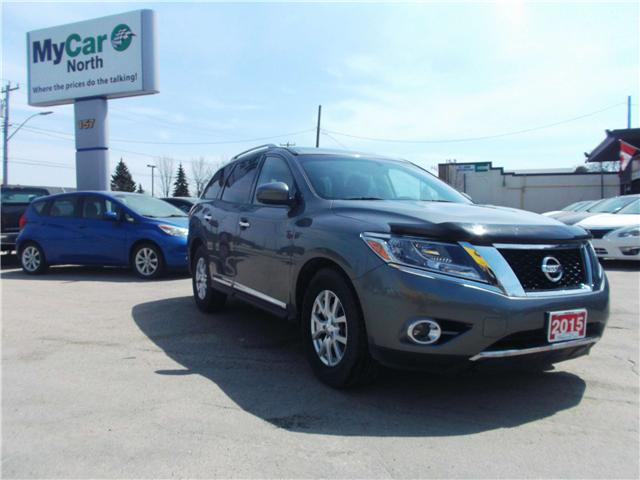2015 Nissan Pathfinder SL (Stk: 171543) in North Bay - Image 2 of 14