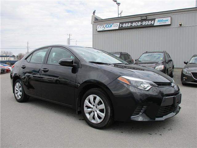 2015 Toyota Corolla LE (Stk: 180360) in Kingston - Image 2 of 11