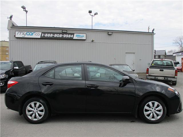 2015 Toyota Corolla LE (Stk: 180360) in Kingston - Image 1 of 11