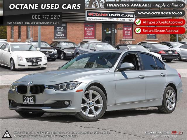 2012 BMW 320i  (Stk: X99975) in Scarborough - Image 1 of 27