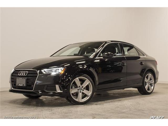2018 Audi A3 2.0T Komfort (Stk: T14717) in Vaughan - Image 1 of 7
