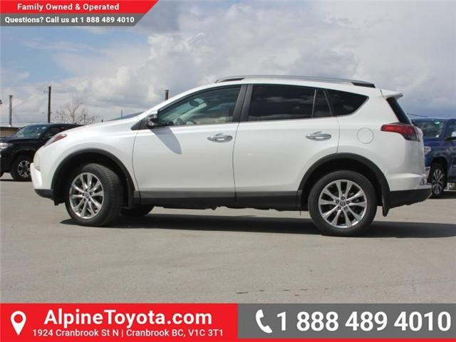 2018 Toyota RAV4 Limited (Stk: W730740) in Cranbrook - Image 2 of 18