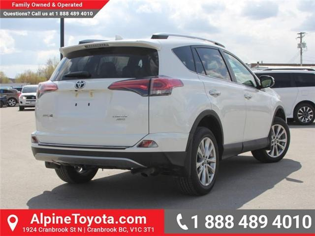 2018 Toyota RAV4 Limited (Stk: W730740) in Cranbrook - Image 5 of 18