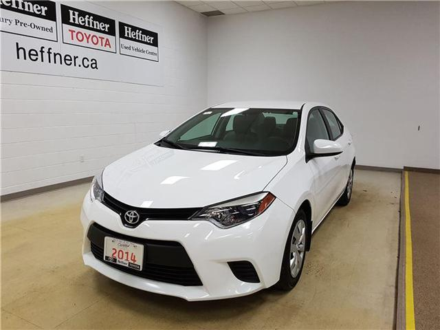 2014 Toyota Corolla LE (Stk: 185424) in Kitchener - Image 1 of 21