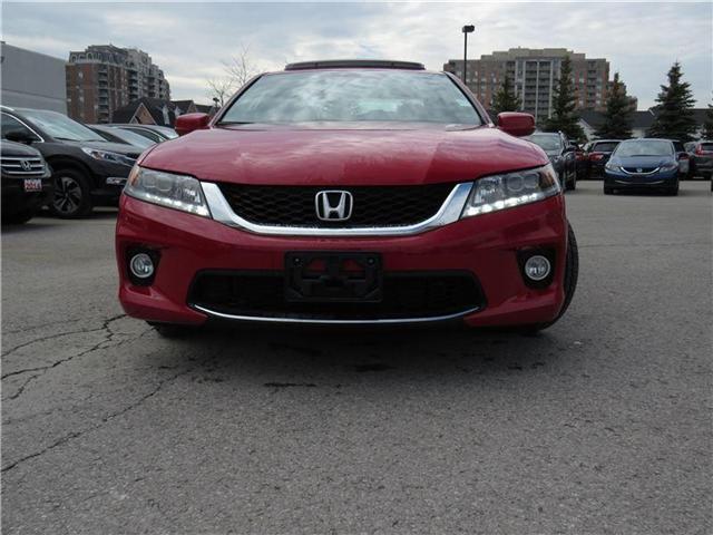 2014 Honda Accord EX-L-NAVI V6 (Stk: 180529A) in Richmond Hill - Image 2 of 12
