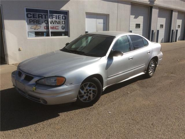 2005 Pontiac Grand Am SE1 (Stk: 192338) in Brooks - Image 1 of 14