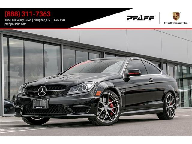 2015 Mercedes-Benz C63 AMG Coupe (Stk: P12427A) in Vaughan - Image 1 of 22